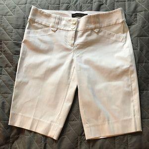 White Bermuda Shorts